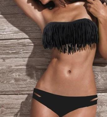 Bikini's Ruffled