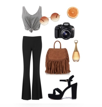 Outfit flared trousers 4