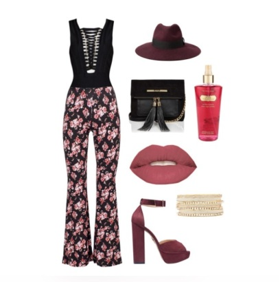 Outfit flared trousers 5