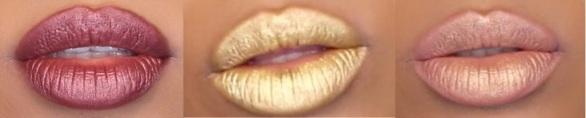 Metallic lips kylie jenner alle 3